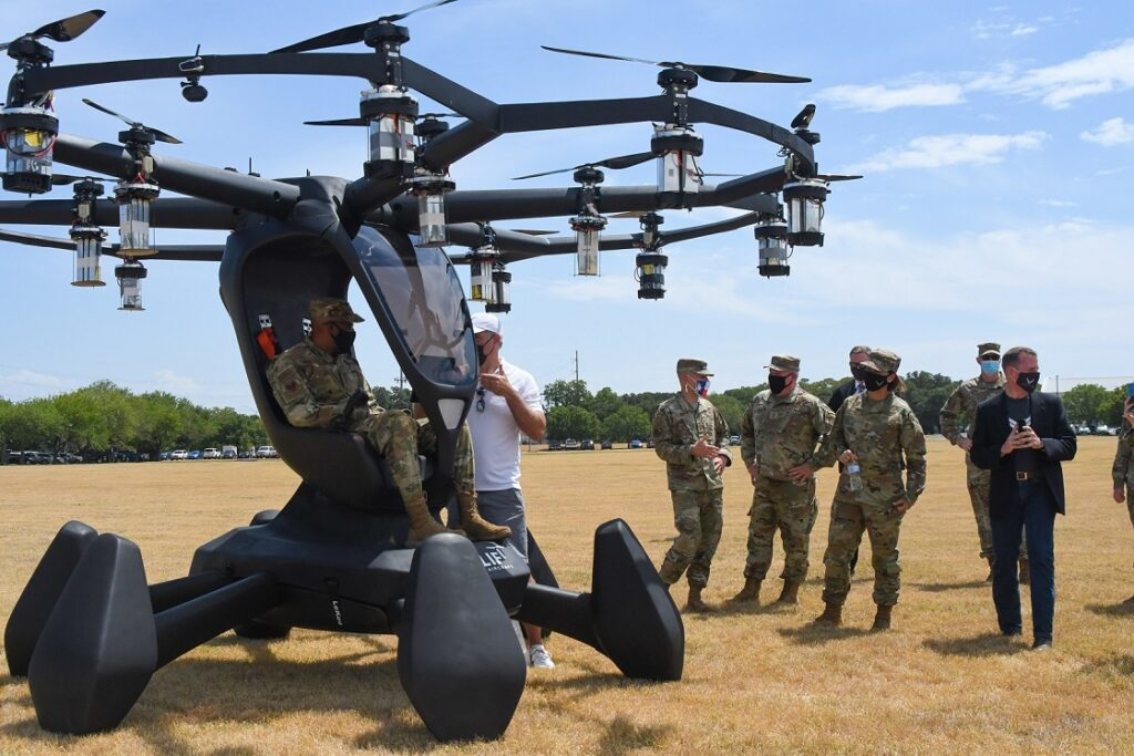 Agility Prime Looks Toward Implementing eVTOLs in Air Force Operations in FY '23