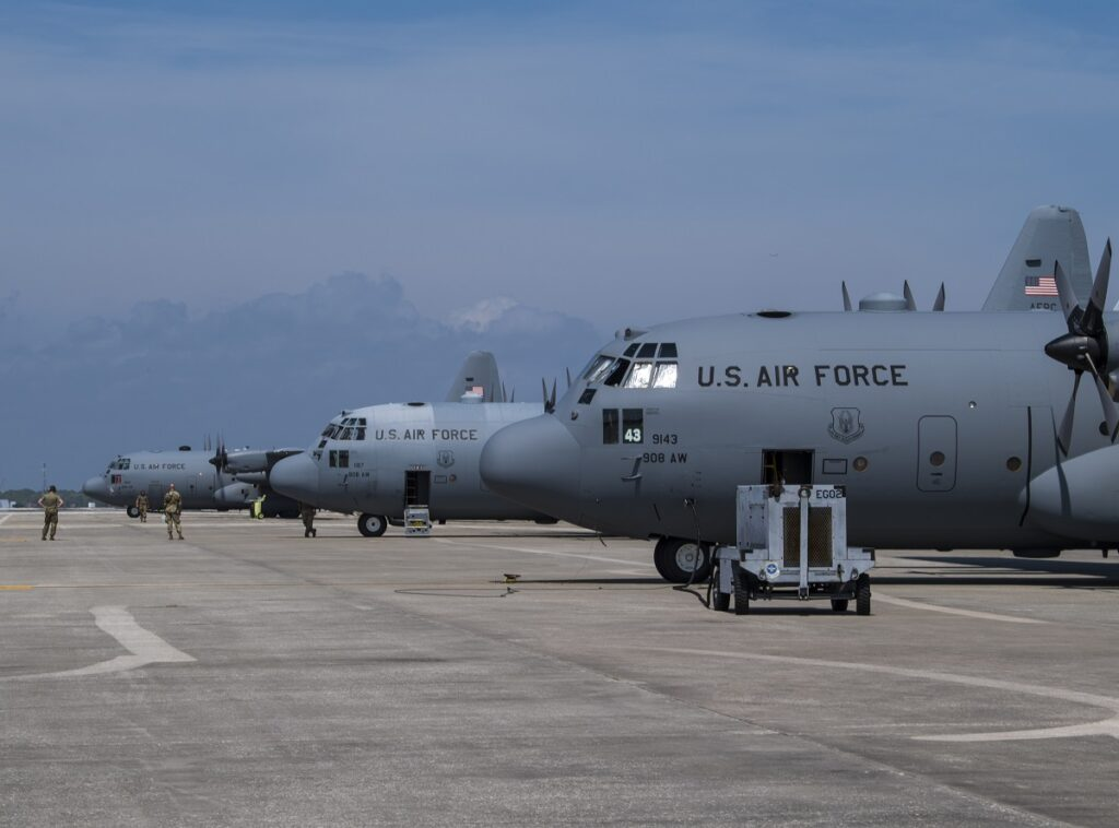 SASC Recommends Floor of 292 C-130s for U.S. Air Force