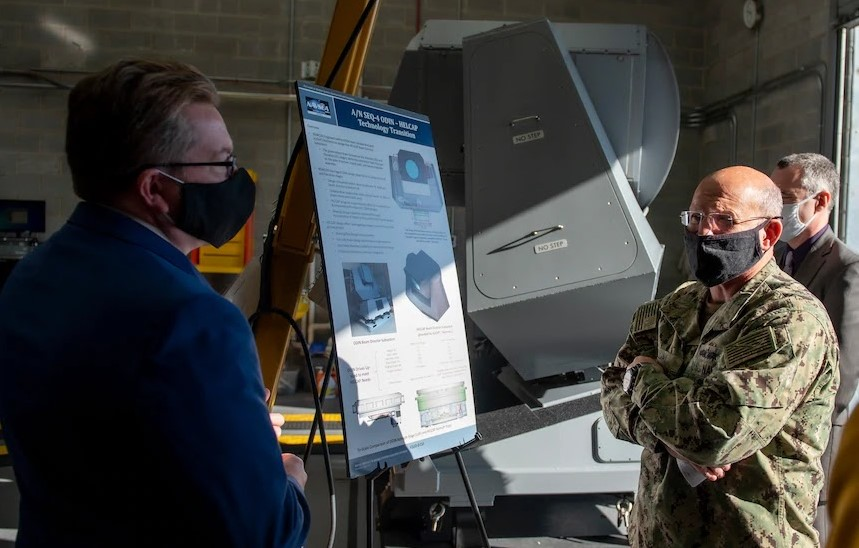 VTG Awarded Contract To Install ODIN Laser Weapons On Five More Destroyers